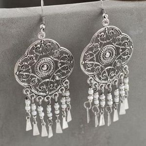 Dream silver earrings jbloom